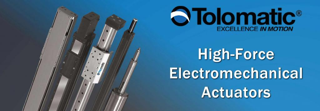 Tolomatic Electromechanical Actuators