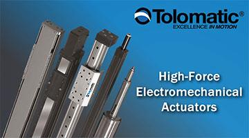 Tolomatic Electromechanical Actuators