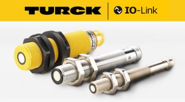 Turck Measuring Inductive Sensor with IO-Link